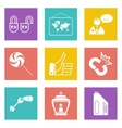 Color icons for Web Design set 35 vector image