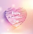 Scribble heart Valentines Day design 0501 vector image vector image
