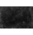 Black and dark gray watercolor texture background vector image