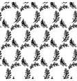 spring leaf brush seamless pattern vector image