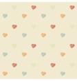 Vintage scribble heart vector image