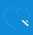 love flying vector image