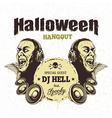 Halloween Card 3 vector image