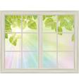 window spring vector image