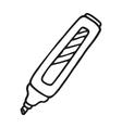 Marker pen icon vector image