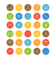 Different simple web navigation pictograms vector image