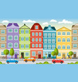 city landscape in summer can also be used as a vector image