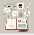 The Concept of Modern Medicine vector image