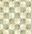 Vintage seamless tiles with grunge texture vector image
