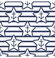 Set of sea and nautical seamless patterns vector image