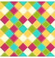Colorful rhombus background vector image vector image