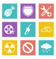 Color icons for Web Design set 37 vector image vector image
