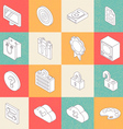 Modern Flat Icons 2 vector image