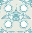 Maori style tattoo seamless pattern for decoration vector image