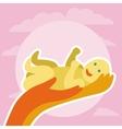 newborn greeting card vector image