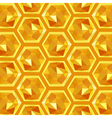 origami honeycomb pattern vector image