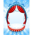 Circus background vector image