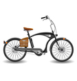 Bicycle chopper vector image
