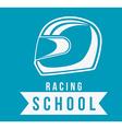 Racing design vector image