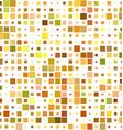 Colorful square pattern background vector image