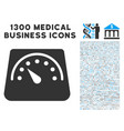 floor scales icon with 1300 medical business icons vector image