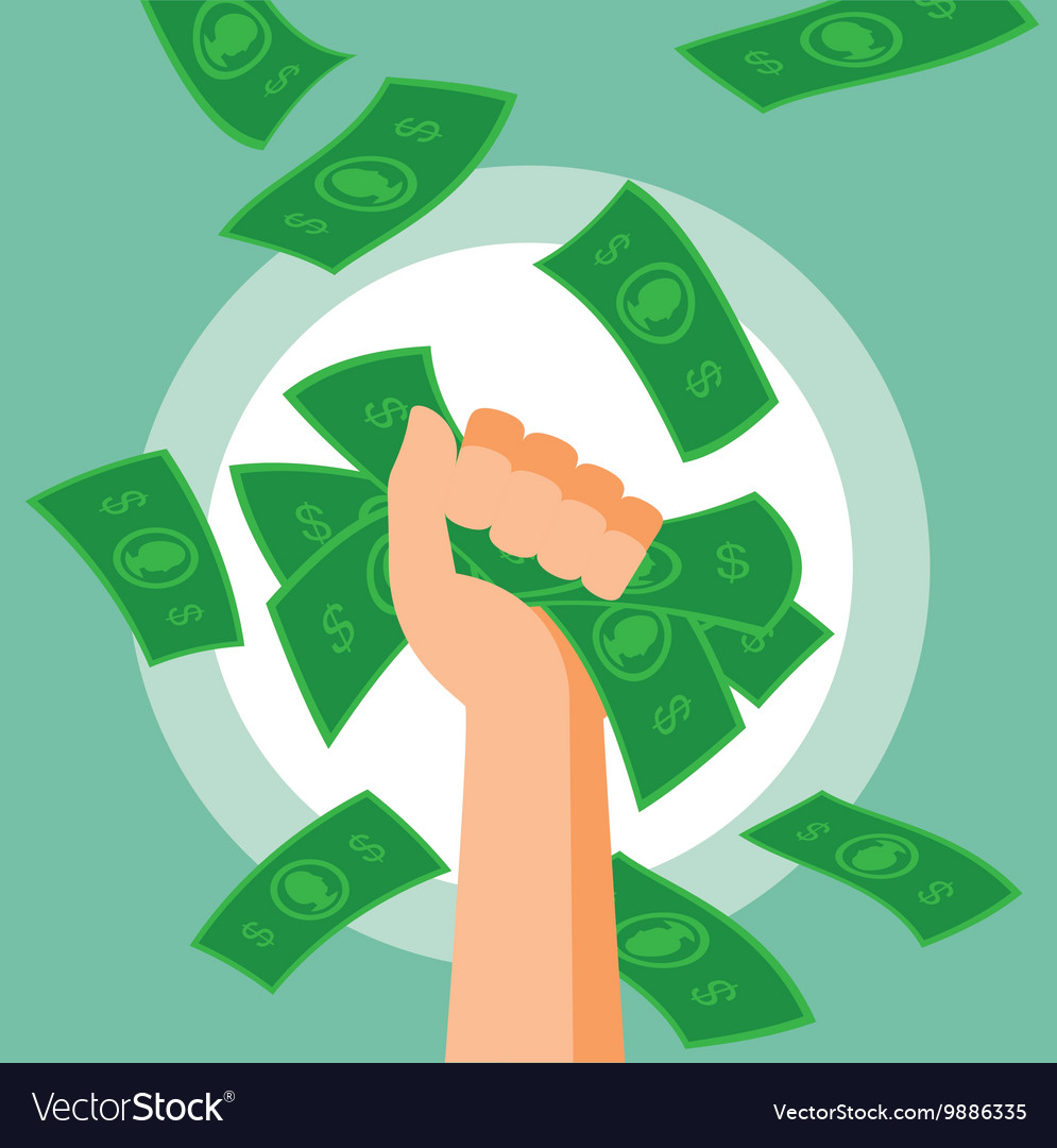 Money fist vector