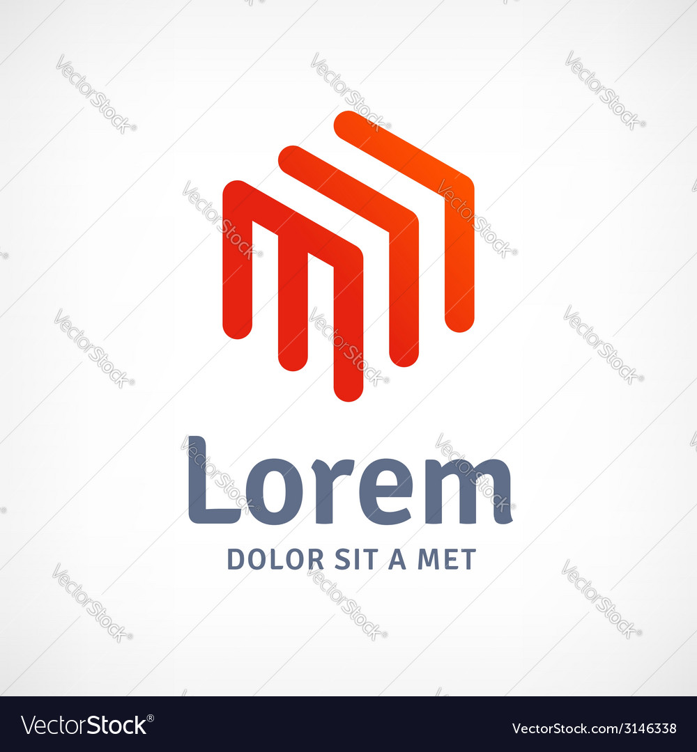 Abstract business design template logo icon with vector