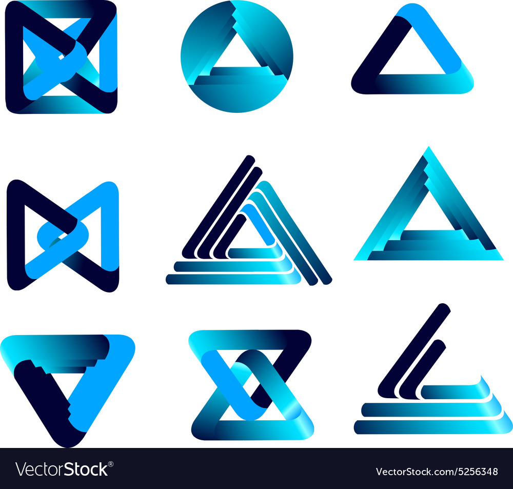 Threedimensional quality icon with a lot vector