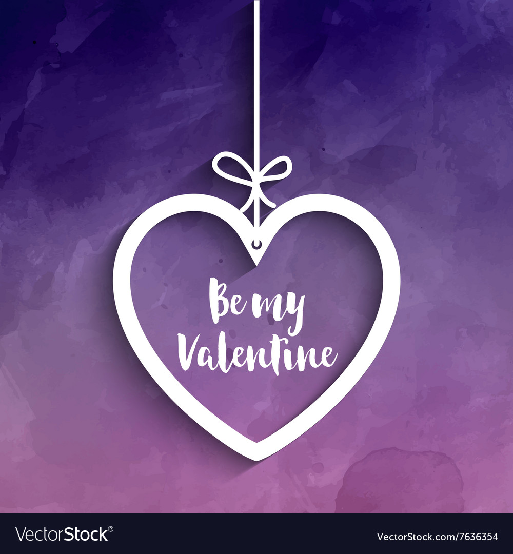 Be my valentine background 1412 vector