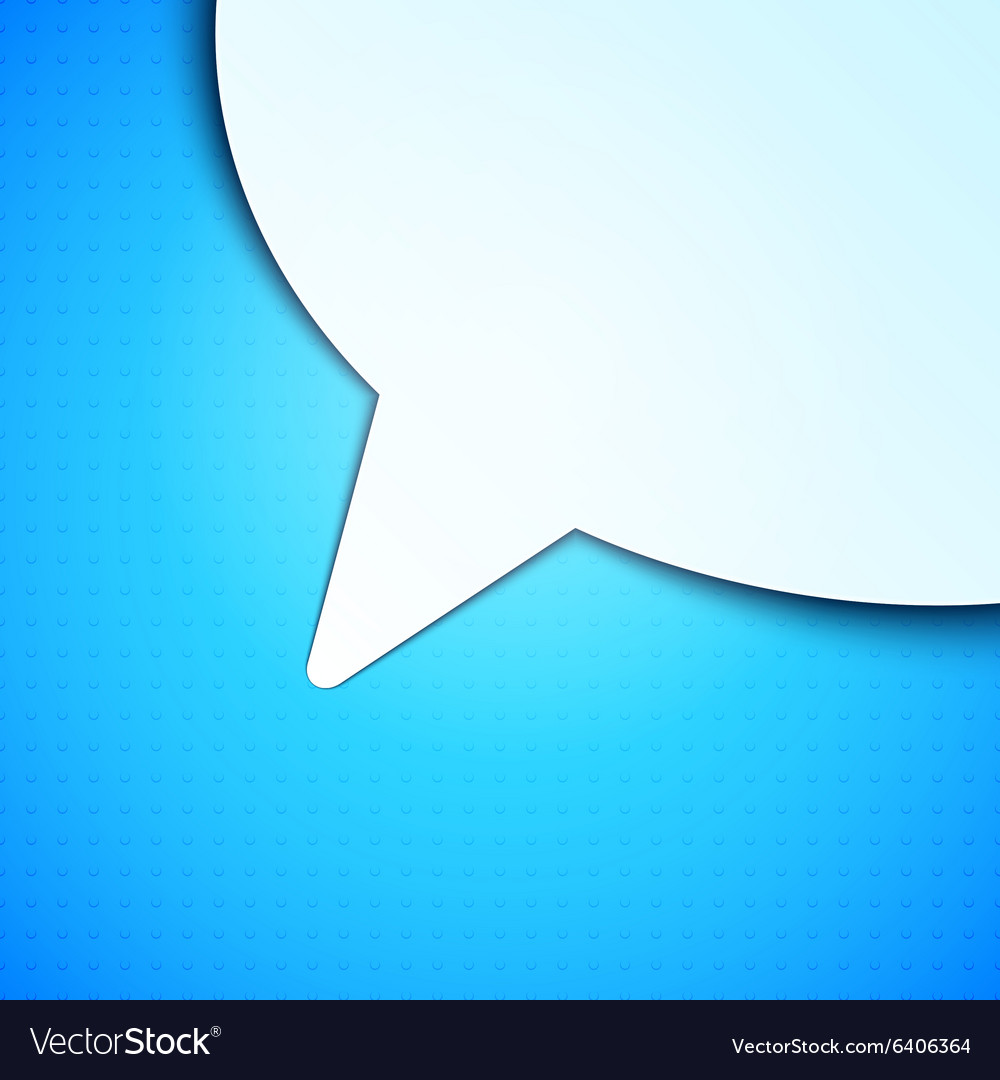 Talk bubble background vector
