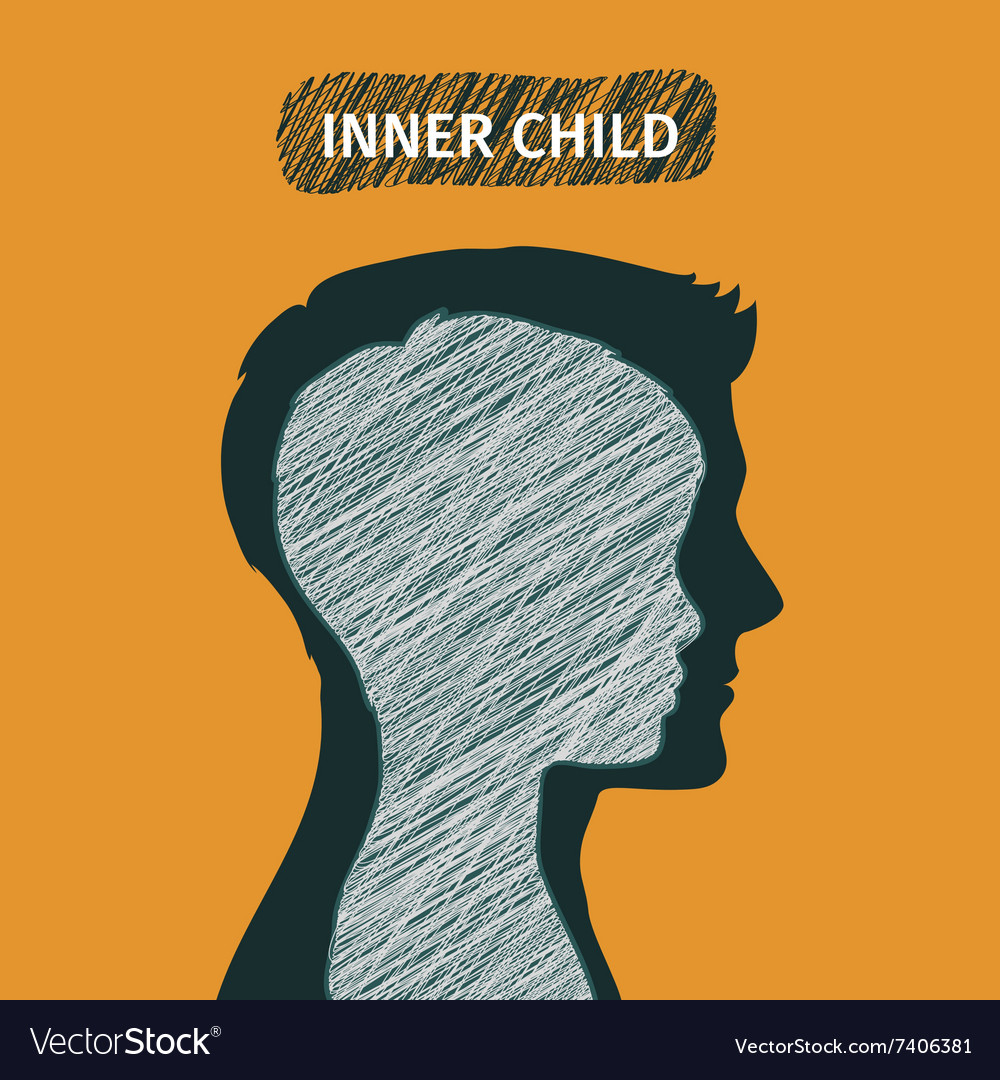 Concept of inner child vector