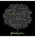 GLOBALIZATION vector image