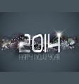 abstract happy new year background vector image