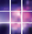 Beautiful blurred background vector image
