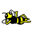 Wasp relax vector image