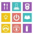 Color icons for Web Design set 41 vector image vector image