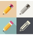Isolated Pencil vector image vector image