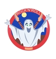 Rock And Roll Ghost vector image vector image