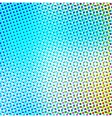 Abstract background in color halftone effect vector image vector image