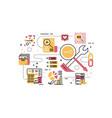 search engine optimization recruitment employee vector image