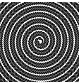 Abstract Dark Spiral Pattern vector image