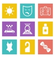 Color icons for Web Design set 41 vector image