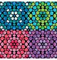 mosaic seamless 380 vector image