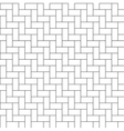 herringbone parquet seamless pattern vector image
