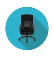 flat icon office chair vector image