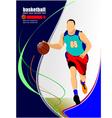 al 1011 basketball 04 vector image vector image