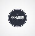 premium label theme vector image