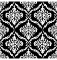 Ornate damask seamless pattern design vector image