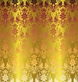 Gold Elegant Stylish Abstract Floral Wallpaper vector image