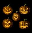 Jack o Lanterns vector image vector image